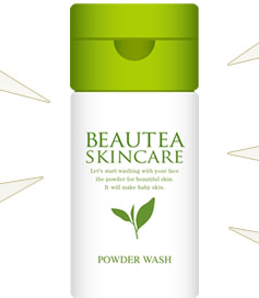 BEAUTEA SKINCARE POWDER WASH